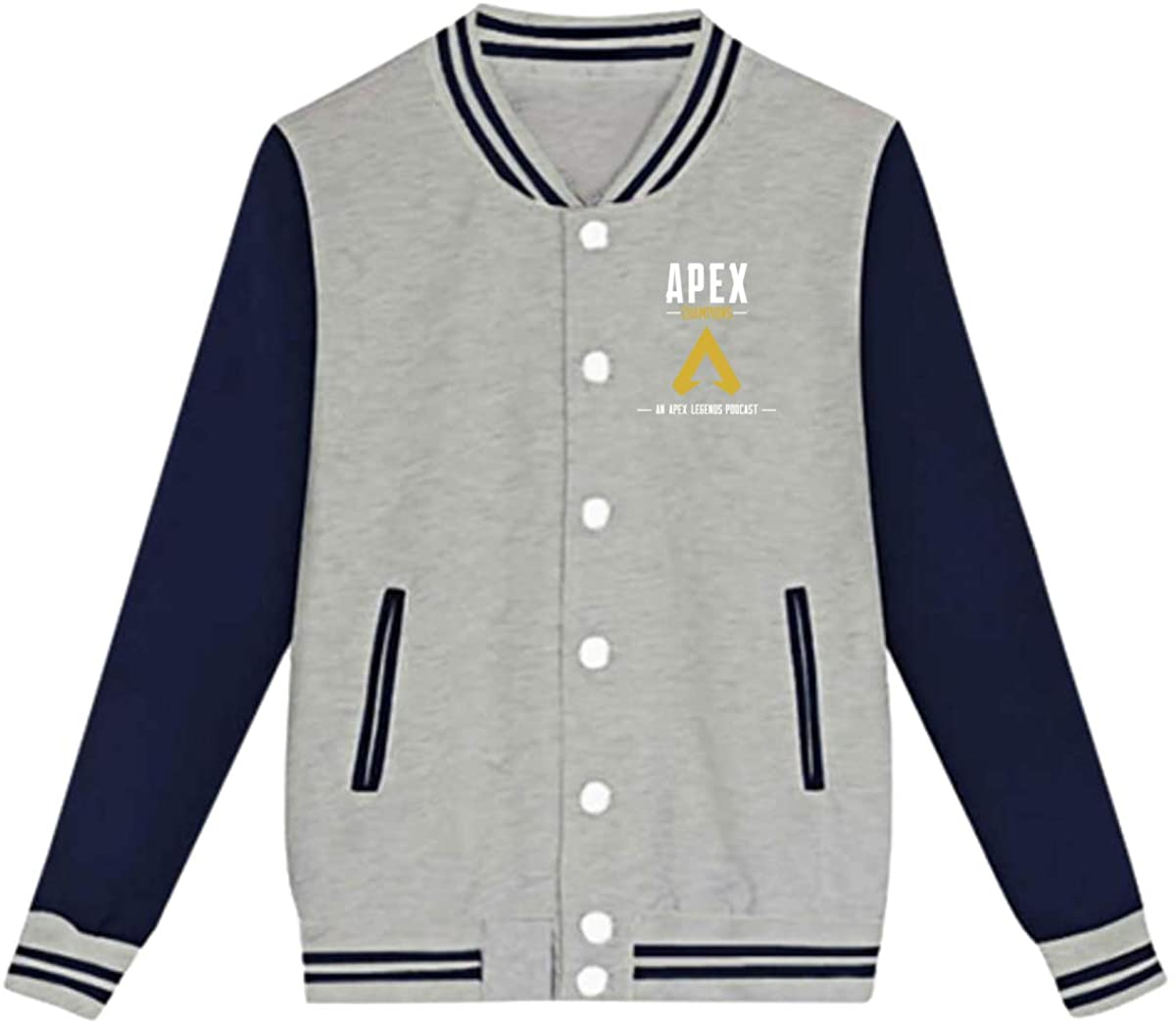 APEX Legends Hero Unisex Youth Boys and Girls Sweatshirt Baseball Uniform Jacket Sport Coat