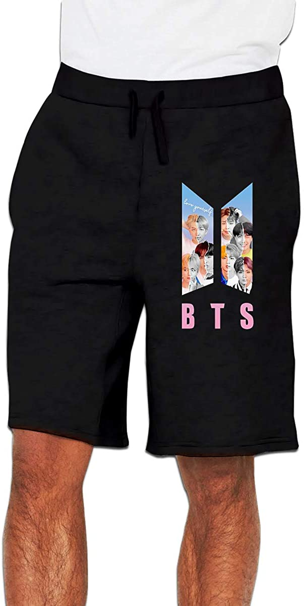 Men's BTS Classic Casual Fit Shorts Weiku.