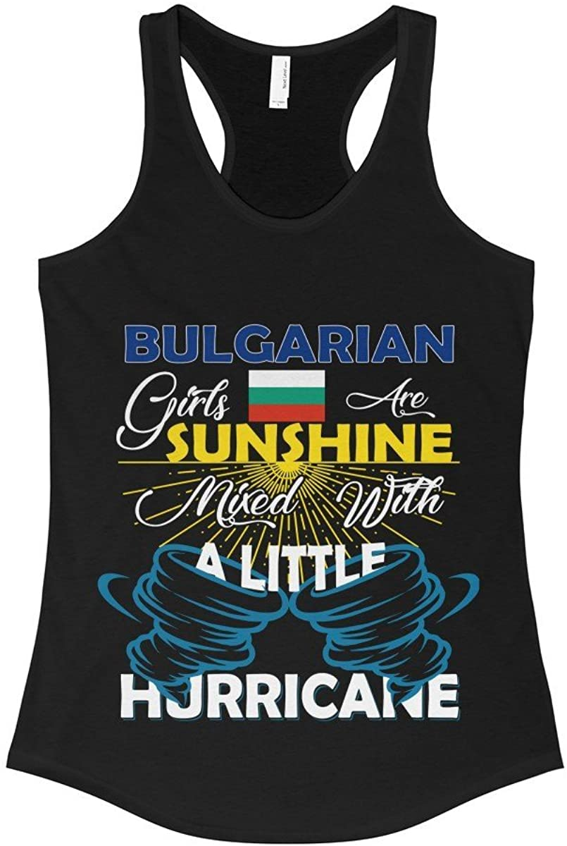 FavoryStore Bulgarian Girls Are Sunshine Mixed With a Little Hurricane Shirt - Tank Top