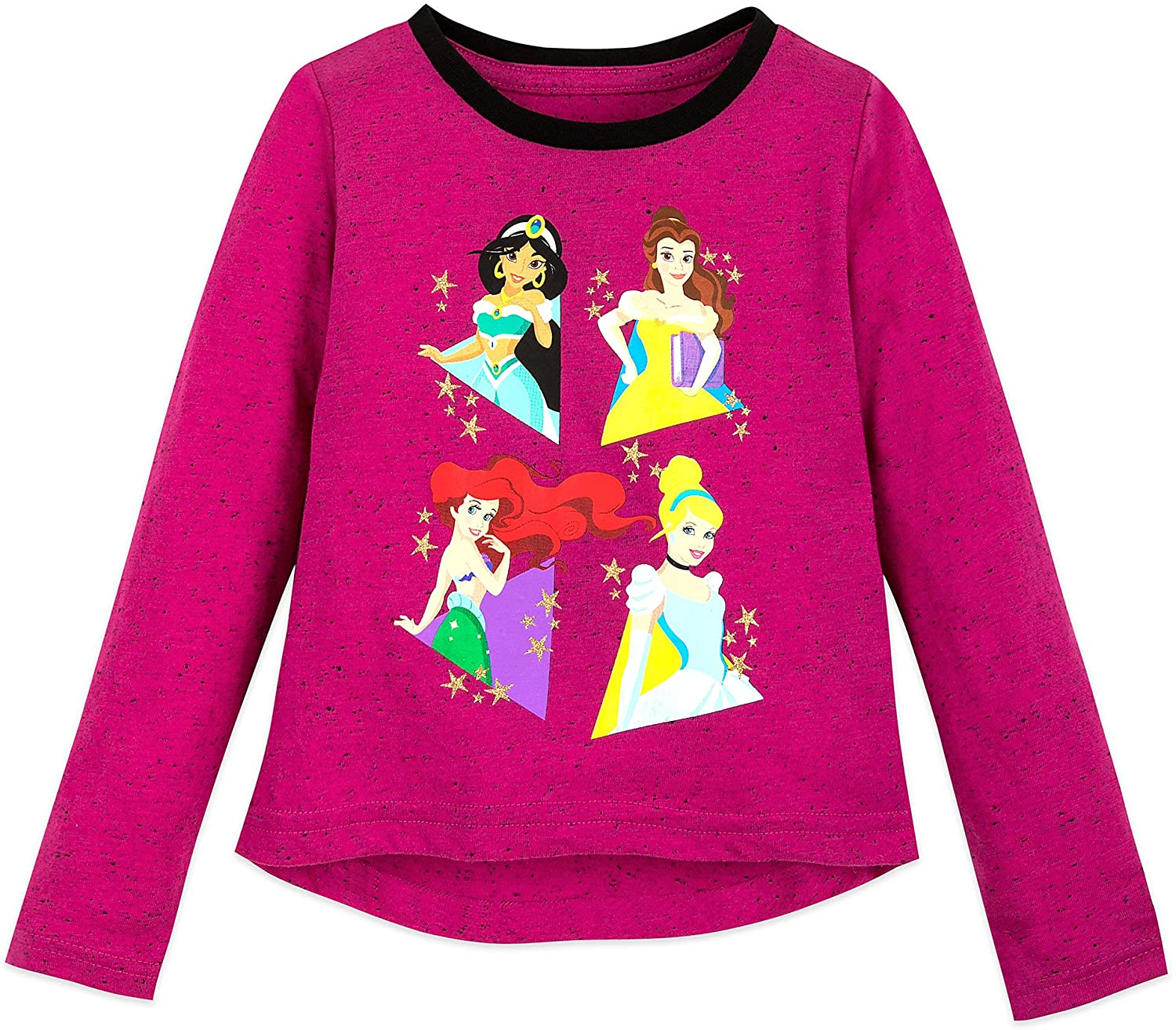 Disney Princess Long Sleeve T-Shirt for Girls Multi