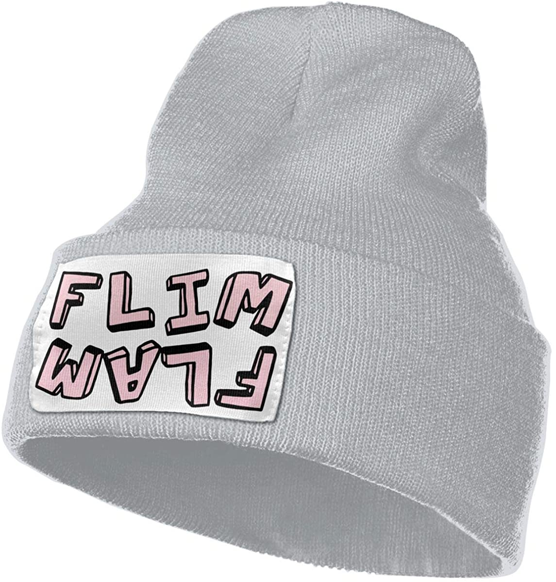 Flim Flam Flamingo Unisex Warm Knitted Fashion Cap Hat
