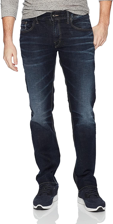 Silver Jeans Co. Men's Allan Classic Fit Slim Leg Jeans