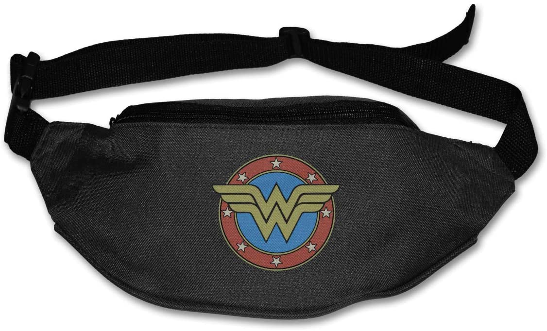 Ertregysrtg Wonder Woman Runner's Waist Pack Fashion Sport Bag