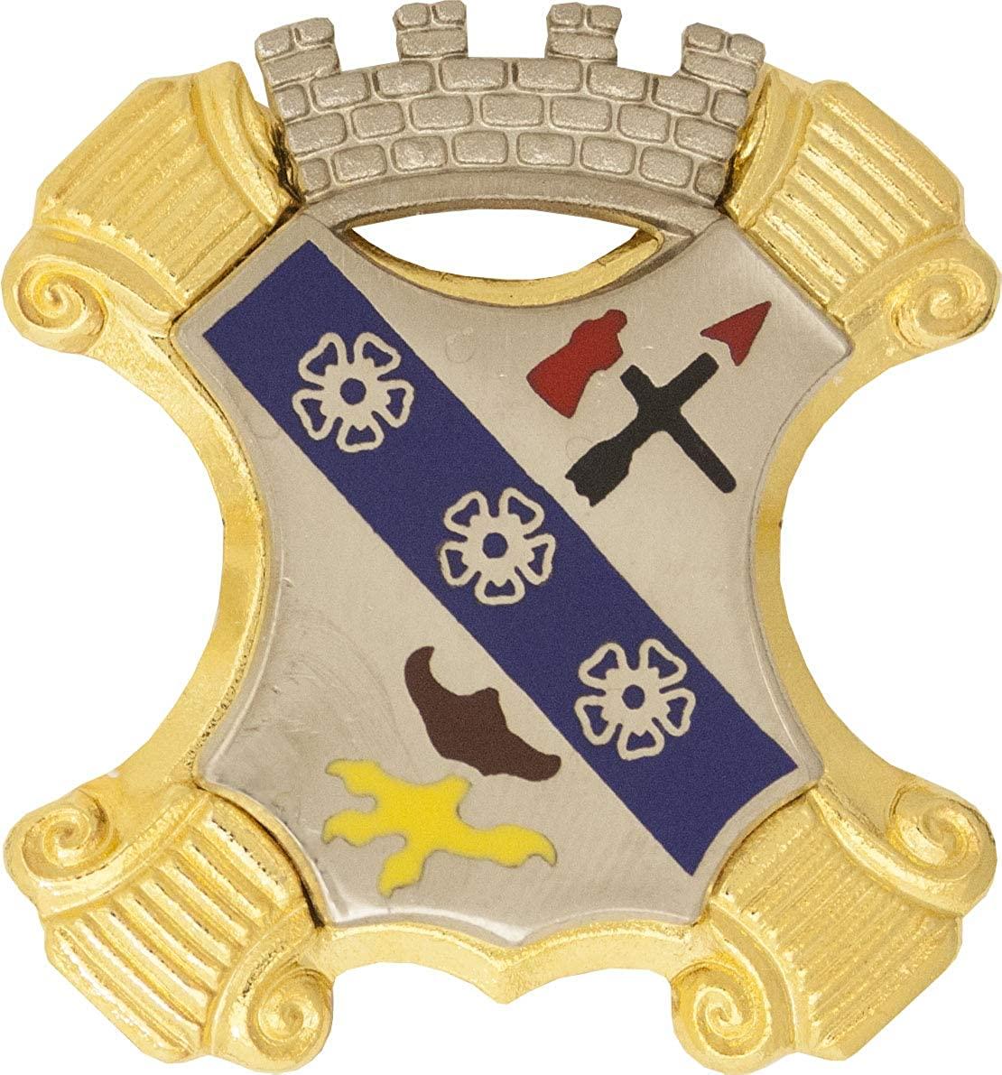 8th Infantry Regiment Unit Crest (No Motto)