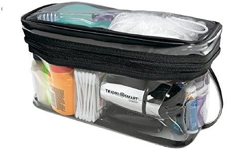 Conair Travel Smart TS10PVC Sundry Kit, Clear Vinyl - Quantity 6