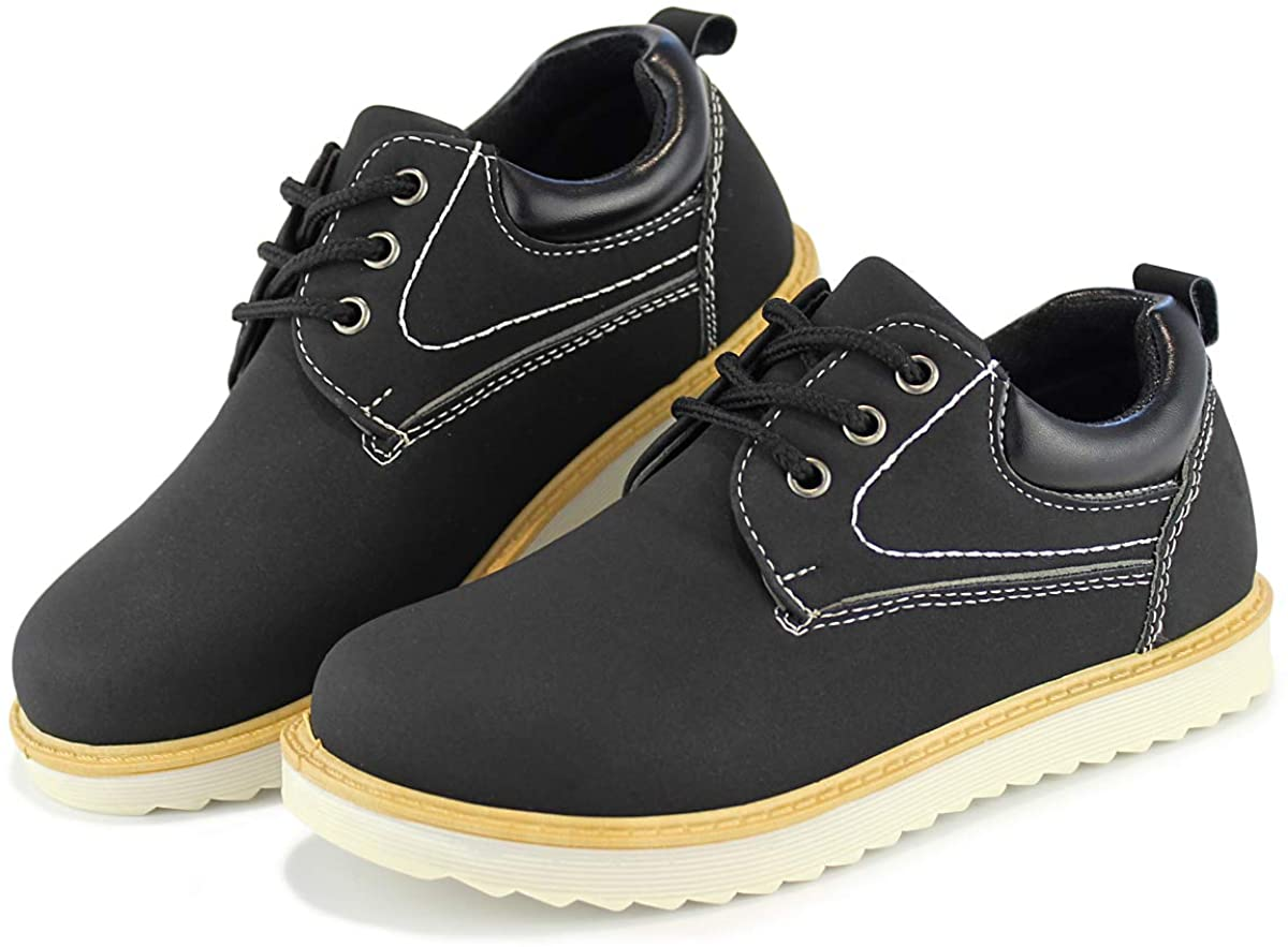 Hawkwell Kids Waterproof Outdoor Oxfords School Uniform Shoes