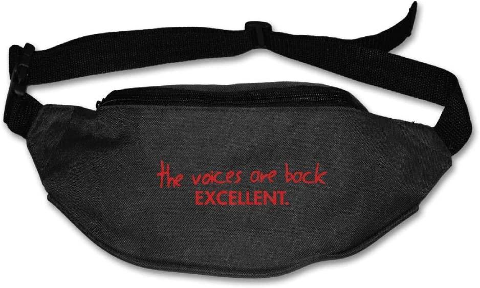 The Voice are Back Exellent Unisex Waist Pack Bag Belt