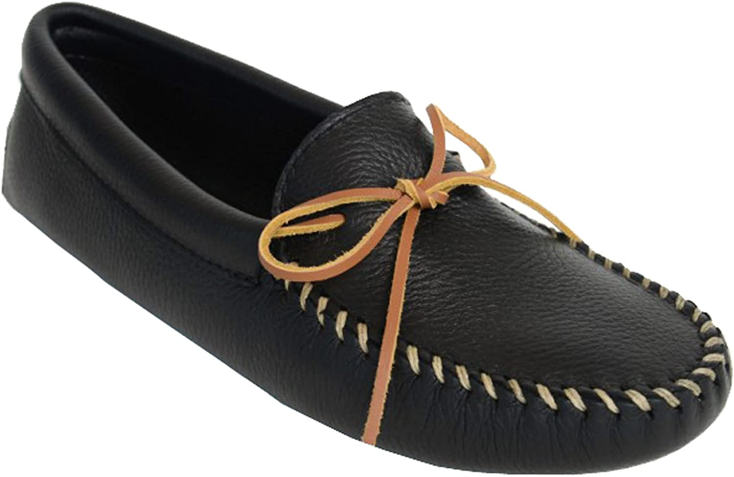 Minnetonka Men's Double Deerskin Softsole Moccasin