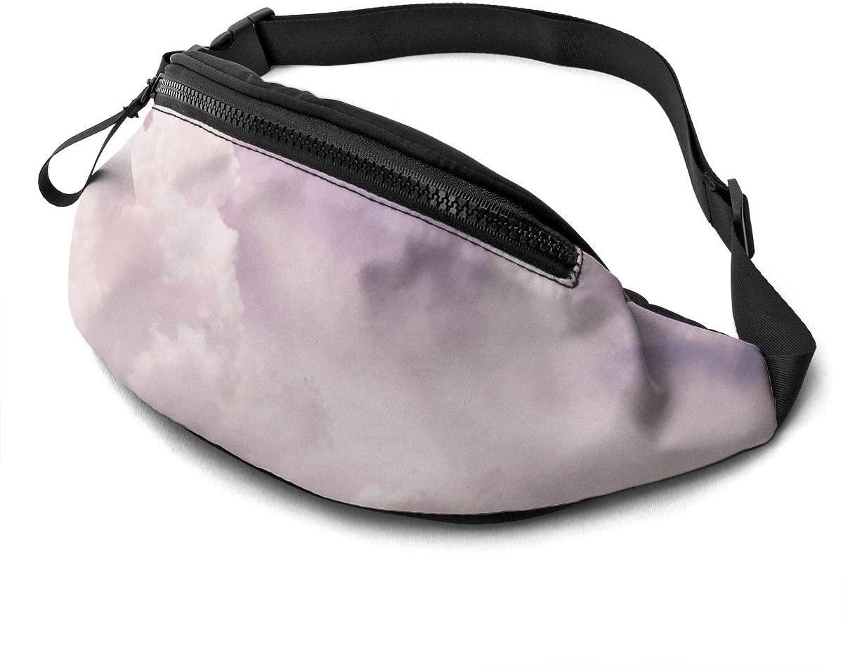 Purple Sky Fanny Pack Fashion Waist Bag