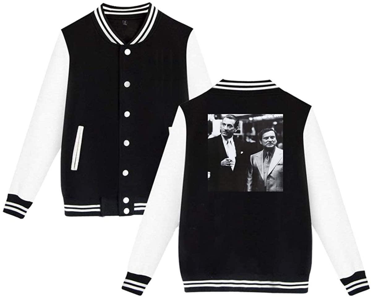 Casino Film Friends Robert De NIRO Joe Pesci Nicky Unisex Vintage Hoodie Baseball Uniform Jacket Sport Coat