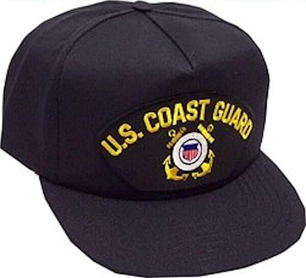 U.S. Coast Guard Ballcap Black