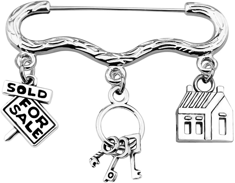 TGBJE Realtor Gift Real Estate Agent Brooch Gift Realtor Brooch Gift