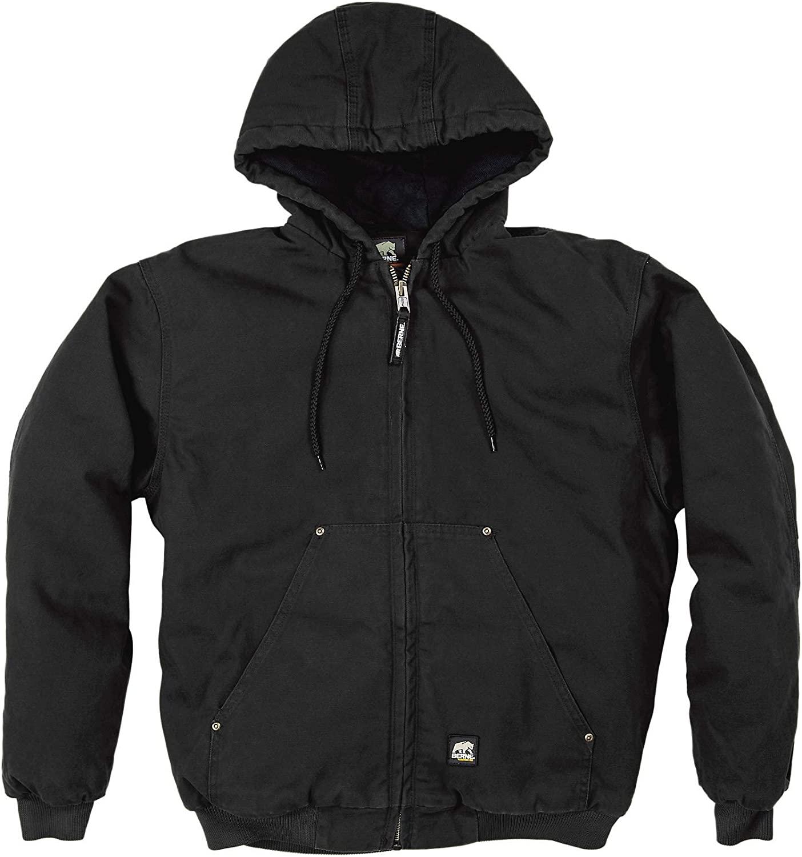 Berne Highland Washed Hooded Jacket