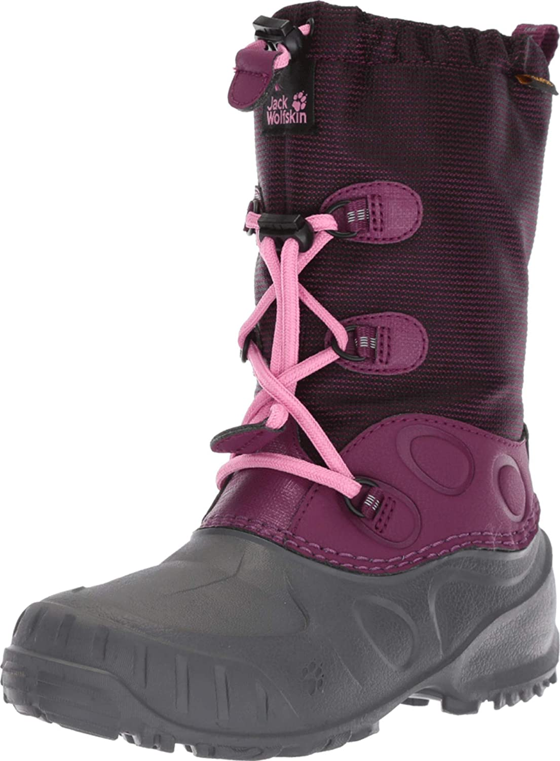 Jack Wolfskin Iceland Texapore High Kid's Waterproof-4°f Insulated Snow Boot