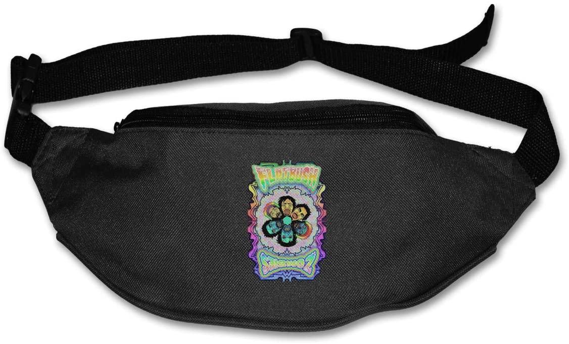 Ertregysrtg Flatbush Zombies Runner's Waist Pack Fashion Sport Bag