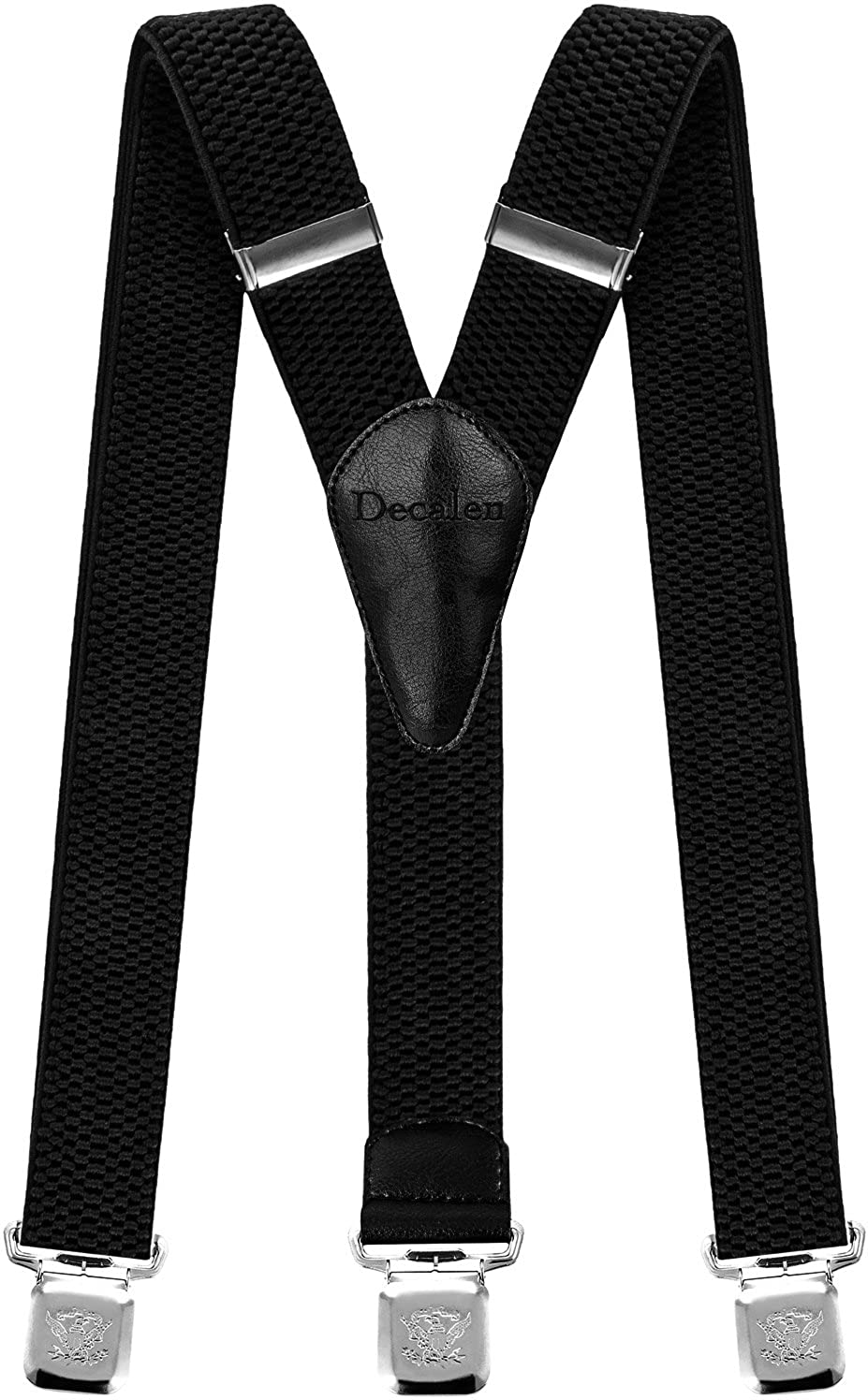 Mens Suspenders Very Strong Clips Heavy Duty Braces One Size Fits All Wide Y Shape