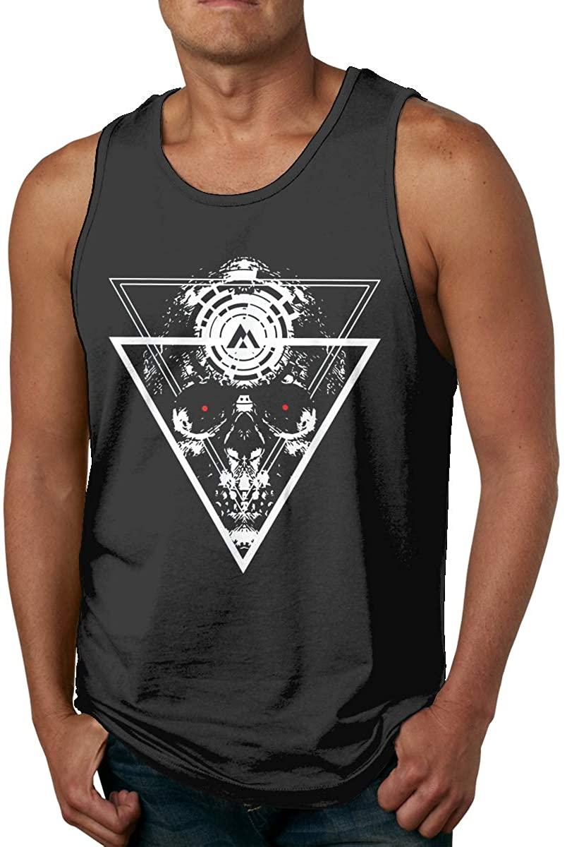 Ufiner Cyberpunk Mens Tank Tops T Shirt