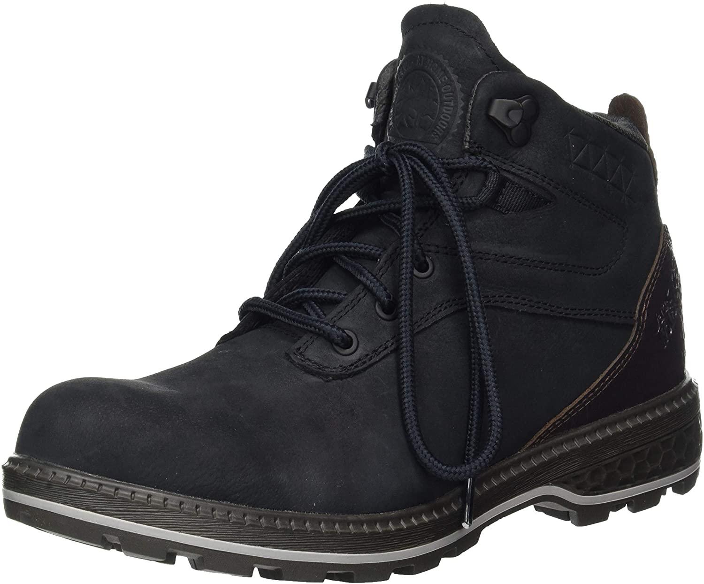 Jack Wolfskin Men's Combat Boots, Grey Phantom Espresso 6363, 7.5 US