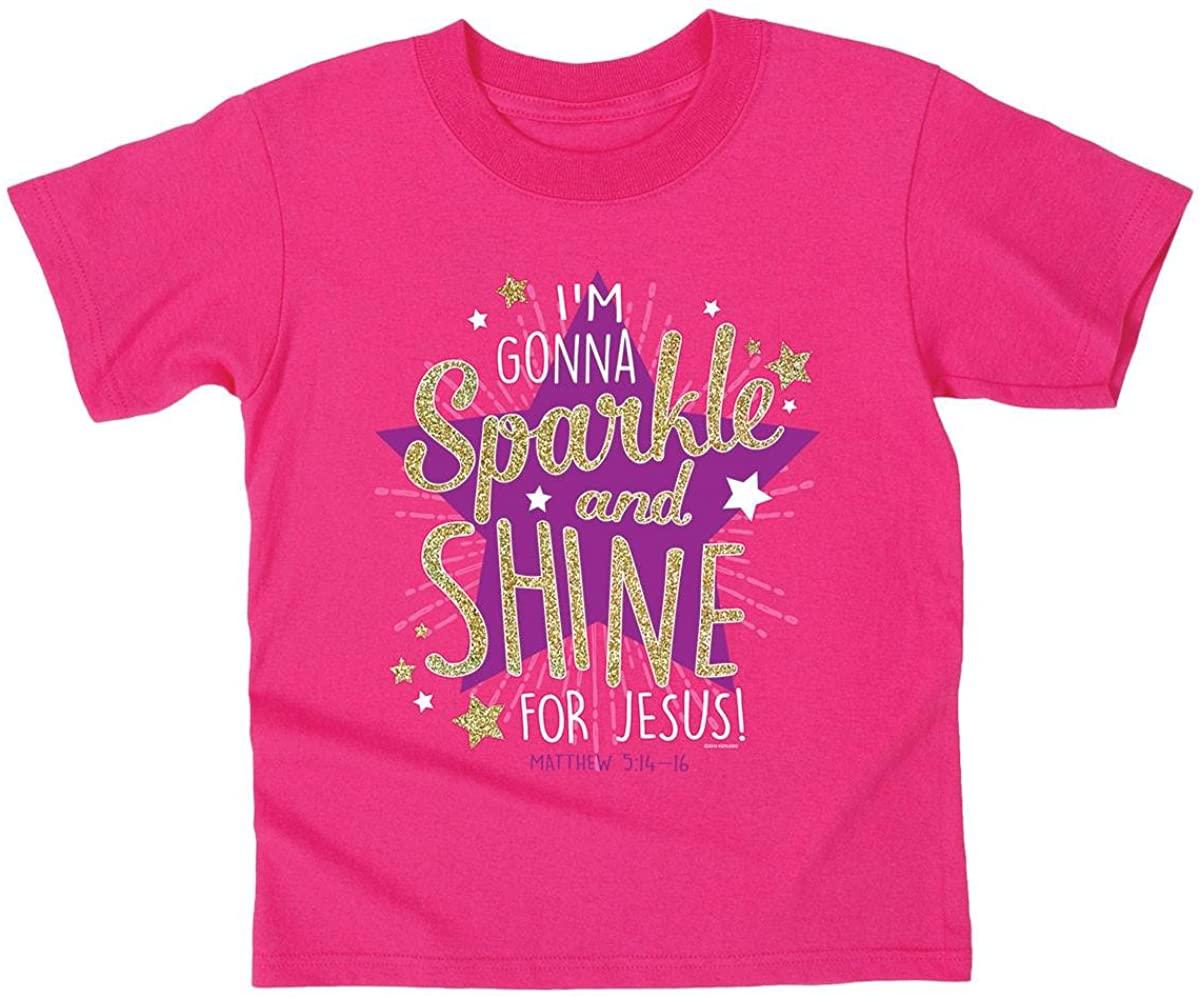 Kerusso Sparkle and Shine Kids T-Shirt - Christian Fashion Gifts
