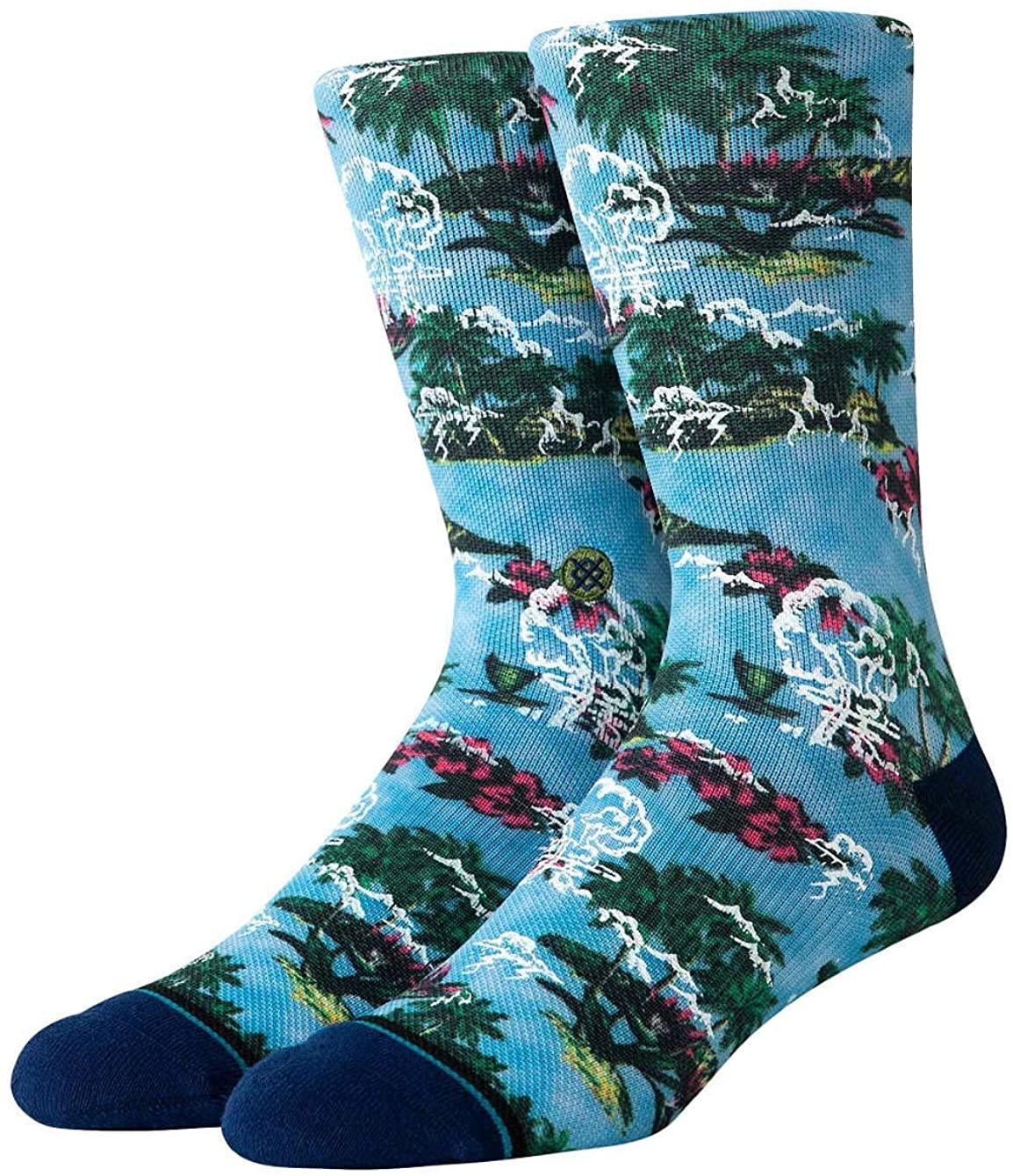 Stance Mens Atomic Wave Mens Socks - Multi Colored (Large)