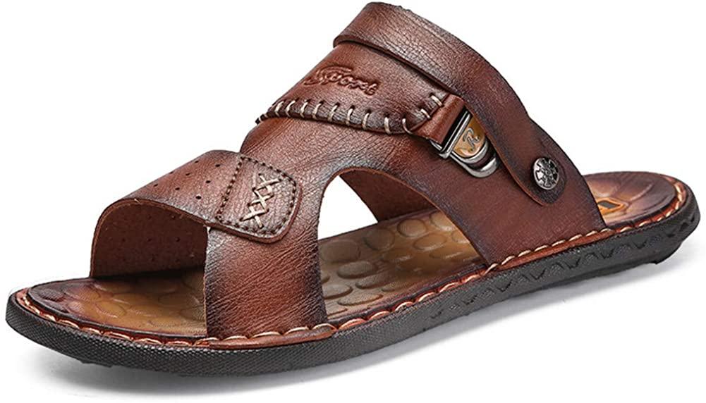 Aaron Men high-end Leather Fashion Beach Sandals