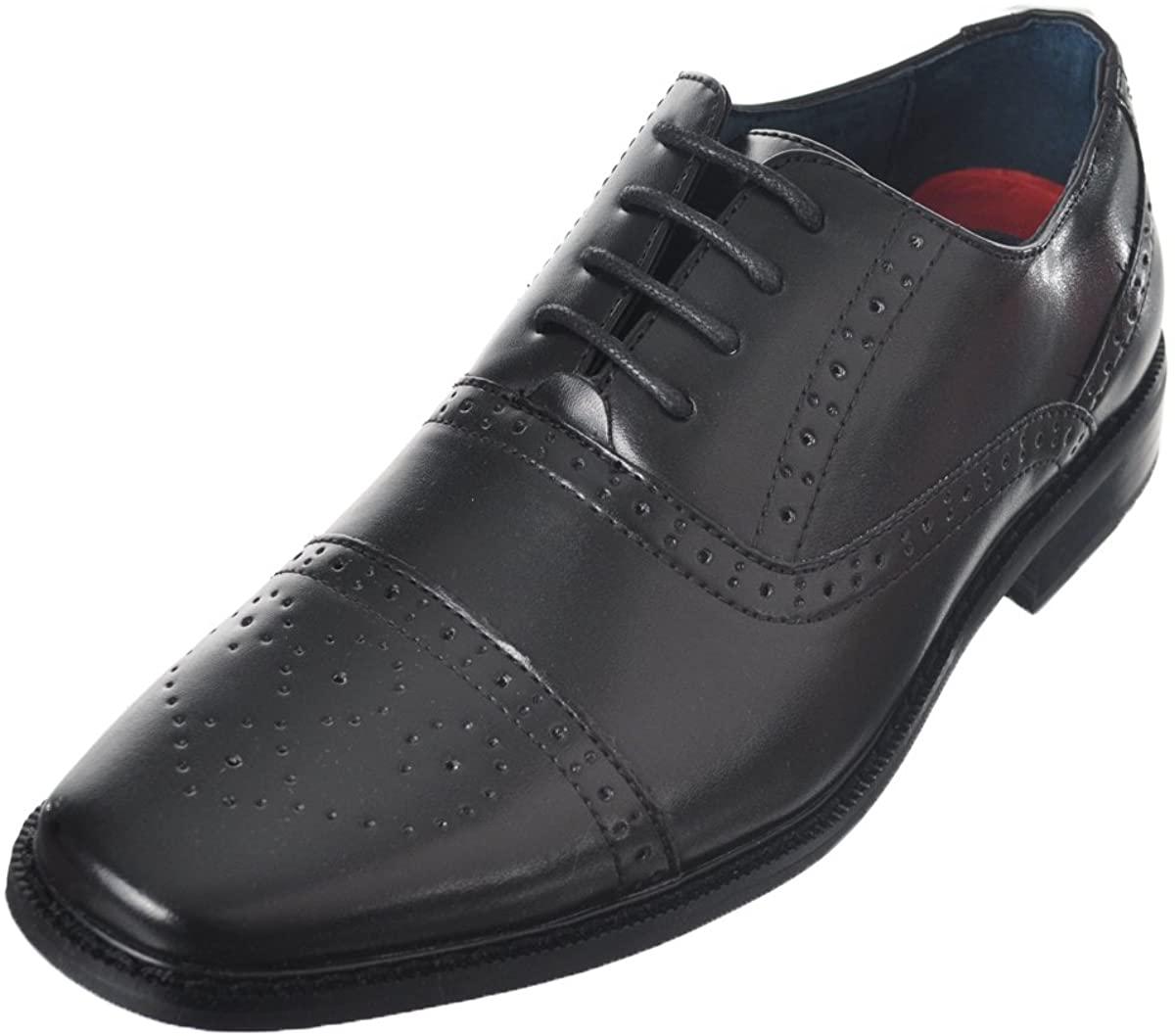 Joseph Allen Boys Worsted Flourish Dress Shoes