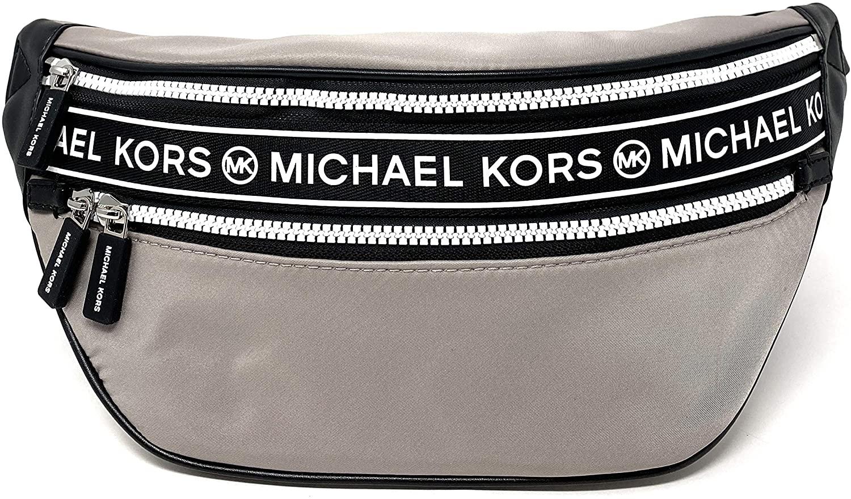 Michael Kors Kenly Medium Waist Pack Crossbody (Pearl grey)