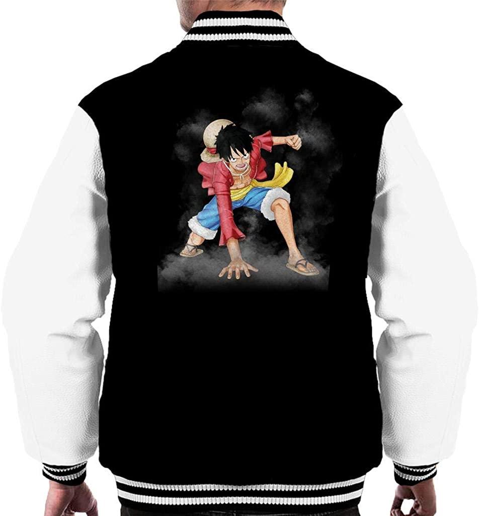 Monkey D Luffy Gear 2 One Piece Men's Varsity Jacket