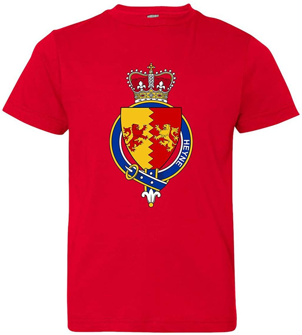 Tenacitee Girl's Youth Irish Garter Family Heyne T-Shirt