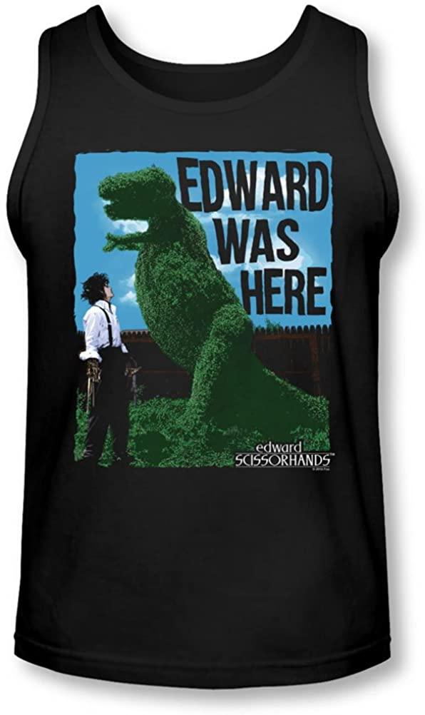 Edward Scissorhands - Mens Edward Was Here Tank-Top