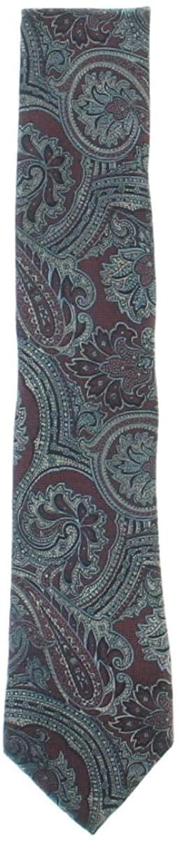 Tasso Elba Mens Silk Printed Neck Tie