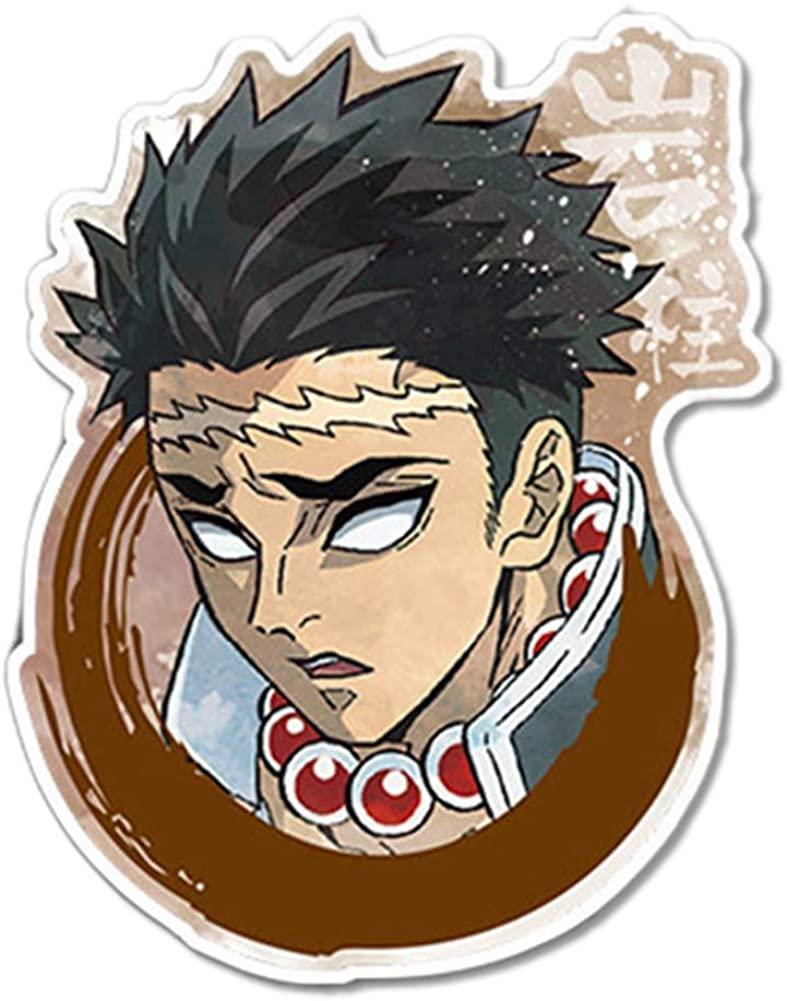 Quero Jom91 Anime Demon Slayer Kimetsu no Yaiba Button Pins Brooch Badge Clothes Backpack Accessories Decoration(13)
