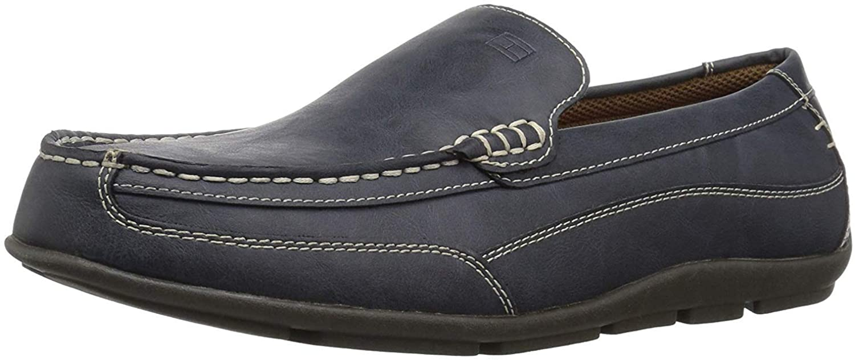 Tommy Hilfiger Men's DATHAN Shoe, navy, 8.5 W US