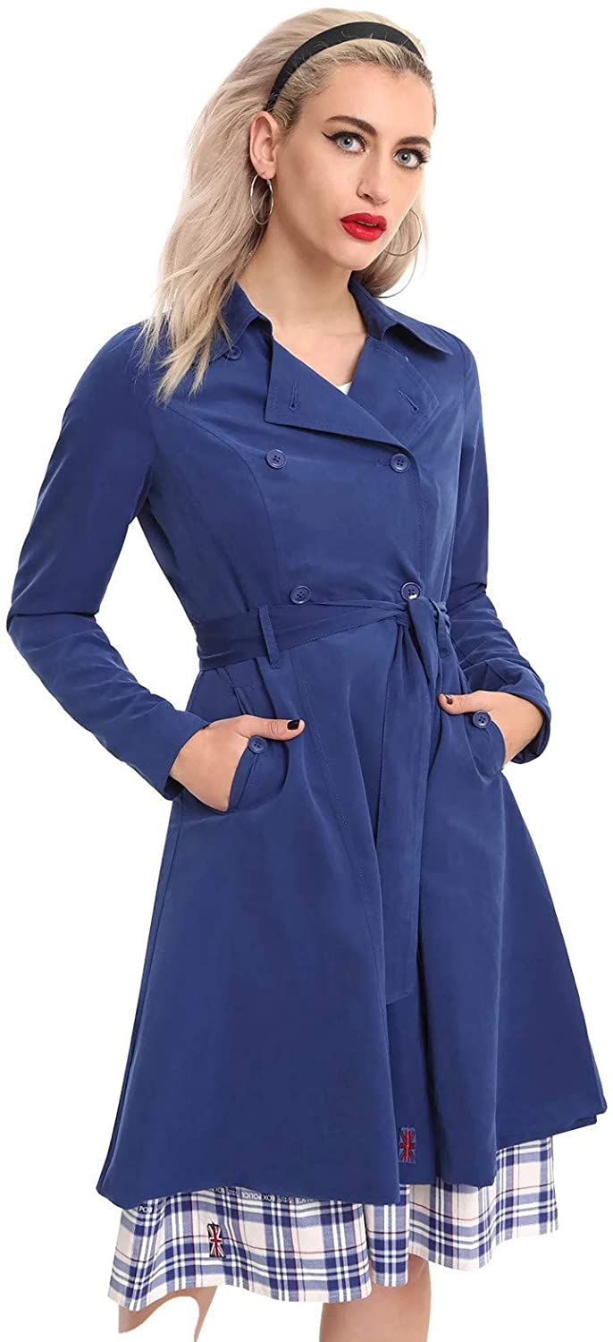 Her Universe Doctor Who Trench Coat