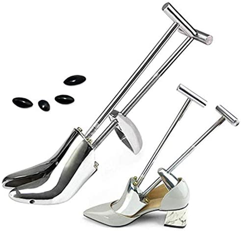 ZHYJJ Shoe Stretcher Adjustable Aluminum Alloy Shoe Tree for Stretching Ladies Shoes Expands Length and Width