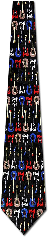 Electric Guitar TIES Neckties