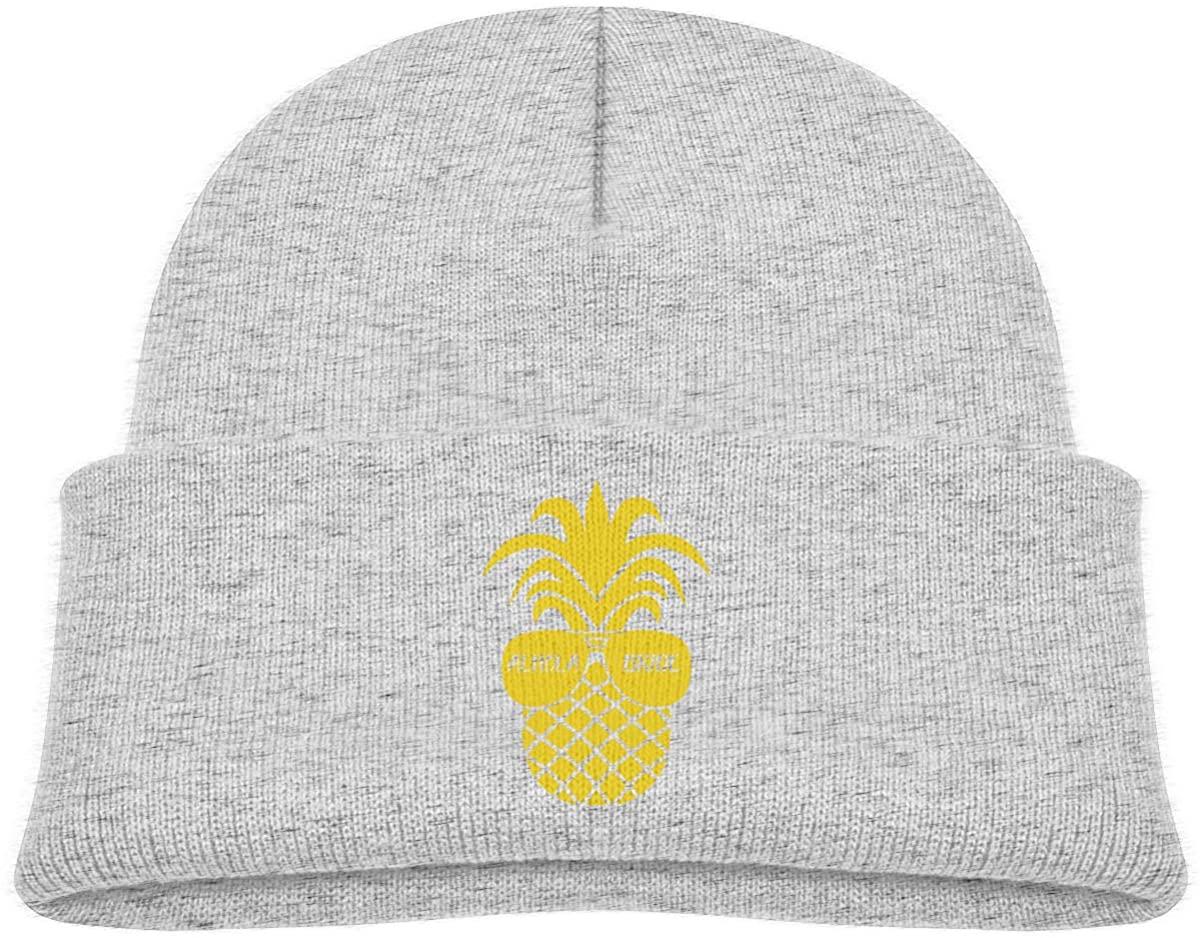 ZWZ Alhola Bride Pineapple Toddler's Hats Winter Knit Beanie Cap Skull Cap