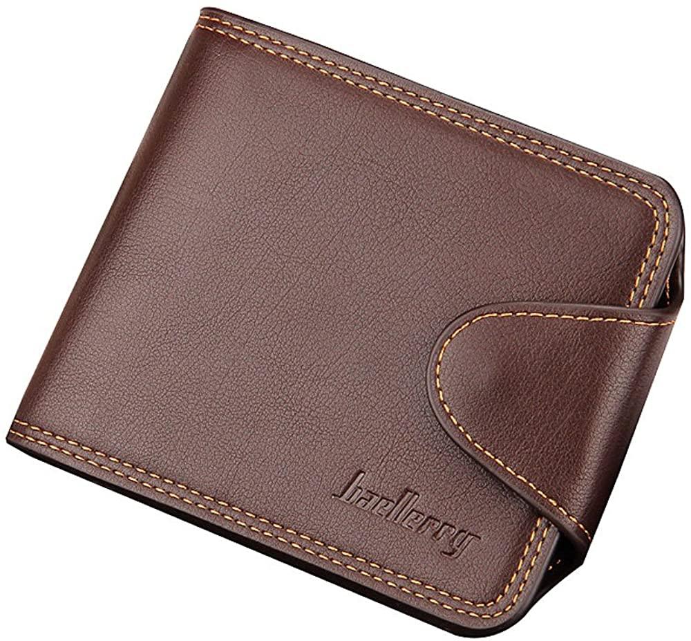 iVotre Short Style Wallet for Men, Inner Zipper Pocket and Coin Pocket