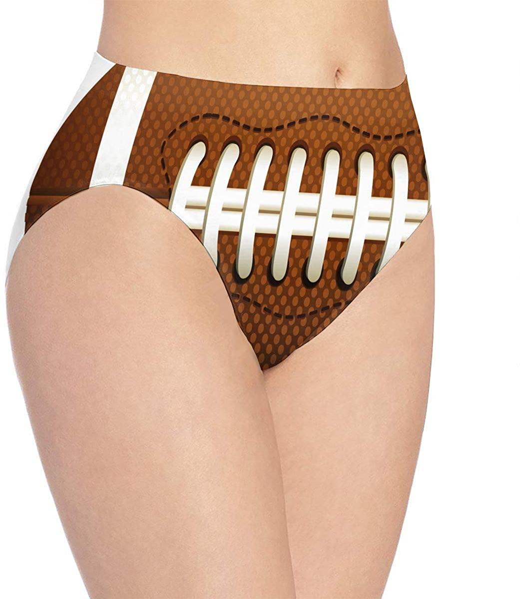 yujiasuliao Womens Underwear Football Ground Vector Special Bikini Brief Hipster Panty