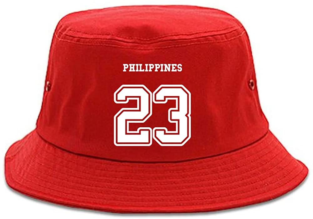 Country of Philippines 23 Team Sport Style Jersey Bucket Hat