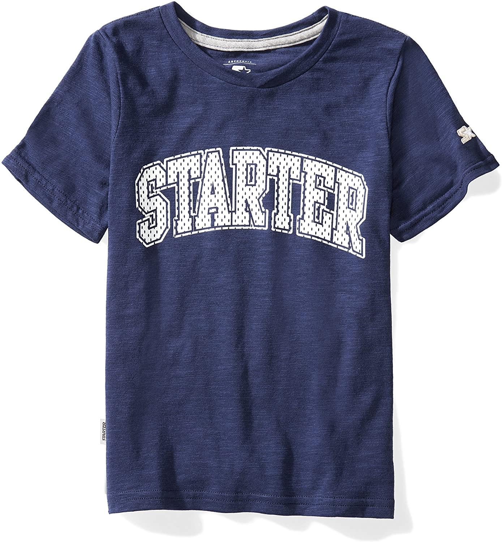 Starter Boys' Short Sleeve Mesh-Logo T-Shirt, DHgate Exclusive