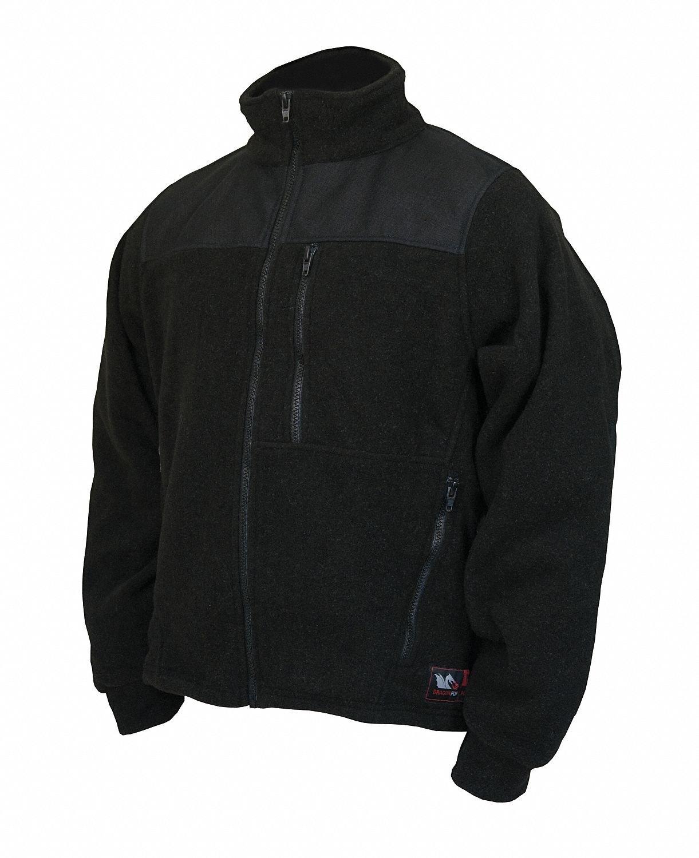 Fire-Resistant Jacket, Black, Nomex IIIA, L