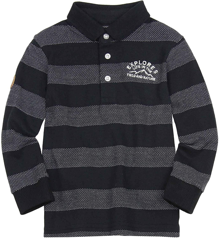 Mayoral Boy's Striped Knit Polo, Sizes 2-9