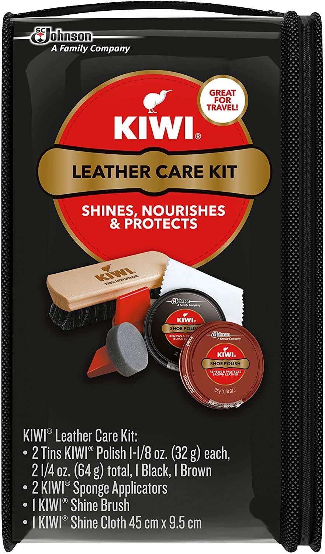 Kiwi Leather Care Travel Kit