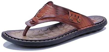 GVCTⓇ Flip-Flops Beach Slippers Men's Sandals Flip-Flop Cross-Border Large Size Breathable Casual Shoes
