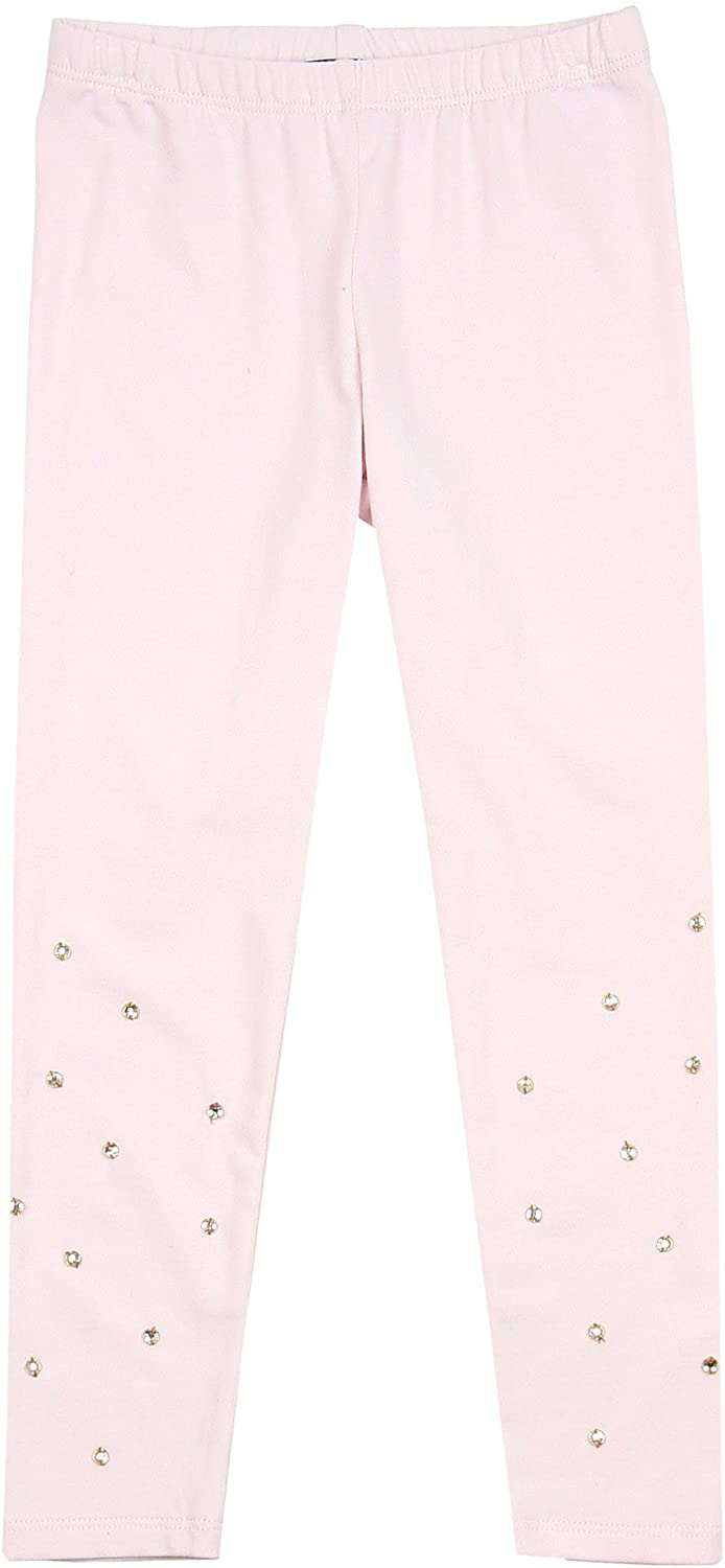 Kate Mack Girls' Spun Gold Leggings Pink, Sizes 12M-12