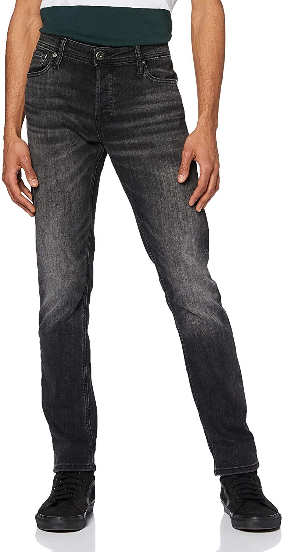 Jack & Jones Men's Glenn Original 817 Slim Jeans, Black