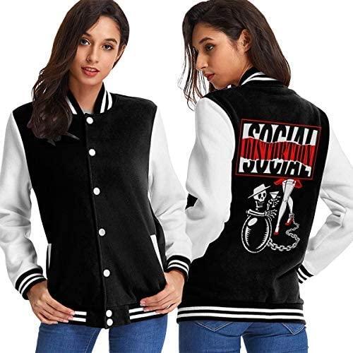 HAWNFERK Mike Ness Social Distortion Baseball Uniform Jacket Unisex Hoodie Fashion Sweater Coat