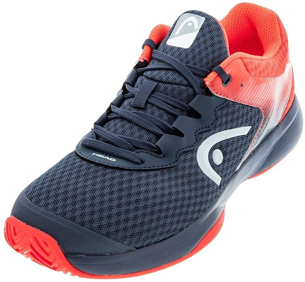 Headgear Men's Tennis Shoes, Blue Midnight Navy Neon Red Mnnr, 43