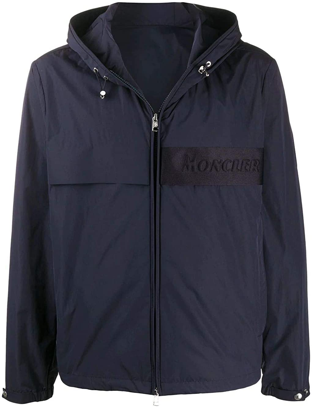 Moncler Luxury Fashion Man 1A7084054A9174S Blue Polyester Outerwear Jacket | Spring Summer 20